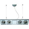 Conrad Lámpatest, hosszú, G53, max. 4 x 50 W, alumínium, ezüst-szürke, SLV QRB 111 154202
