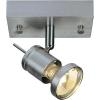 Conrad Mennyezeti-, fali fényszóró, 120 mm x 65 mm x 100 mm, 230 V/50 Hz, GU10, max. 50 W, alumínium (matt), SLV Asto Spot I 147441