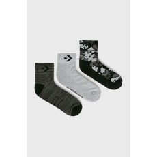 Converse - Zokni (3 darab) - fekete - 1441003-fekete