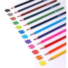 COOL BY VICTORIA Színes ceruza készlet, háromszögletű, COOL BY VICTORIA, 6 különböző szín színes ceruza