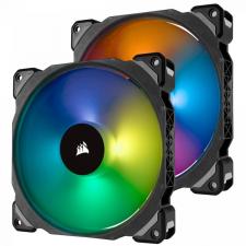 Corsair 140 PRO RGB LED PWM Premium Magnetic Levitation Fan Twin Fan Pack with Lighting Node PRO hűtés