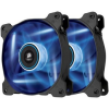 Corsair AF120 Quiet Edition High Airflow Ventilátor, Kék LED, Twin Pack (PL_908794_CO-9050016-BLED)