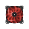 Corsair Air Series AF140-LED piros 140mm rendszerhűtő (CO-9050017-RLED)