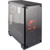 Corsair case Crystal Series 460X Tempered Glass, Compact ATX Mid-Tower