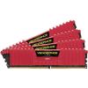 Corsair DDR4 16GB 3000MHz Corsair Vengeance LPX Red CL15 KIT4 (CMK16GX4M4B3000C15R)