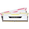 Corsair DDR4 16GB 3200MHz Corsair Vengeance RGB White CL16 KIT2 (CMR16GX4M2C3200C16W)