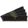Corsair DDR4 16GB PC 3000 CL15 CORSAIR KIT (4x4GB) Vengeance Black  CMK16GX4M4B3000C15