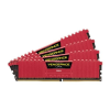 Corsair DDR4 32GB PC 3000 CL15 CORSAIR KIT (4x8GB) Vengeance Red  CMK32GX4M4C3000C15R