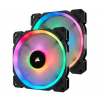 Corsair LL140 Dual Light Loop RGB LED PWM 140mm - Twin Pack (CO-9050074-WW)