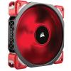 Corsair ML120 PRO LED 120mm Premium Magnetic Levitation Fan piros