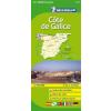 Costa Galicia térkép - Michelin 141