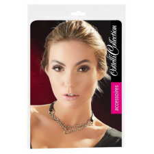 Cottelli - dupla láncos, gyűrűs nyaklánc (ezüst-fekete) nyaklánc