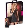 Cottelli - Masnis, csipkés kombinált ruha (fekete)