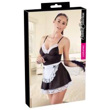 Cottelli - szobalány ruha köténnyel (fekete-fehér) body