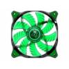 Cougar LED-venti. D14HB-G, Zöld- 140mm