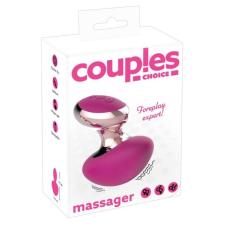 Couples Choice - akkus, mini masszírozó vibrátor (pink) vibrátorok