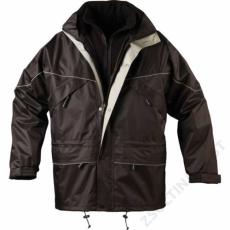 Coverguard ISA 3/1 kabát, fekete -S