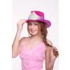 Cowboy kalap pink CH1005