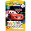 Crayola 3 lapos szám szerinti kifestő mini filcekkel - Verdák