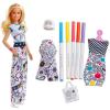 Crayola Barbie Crayola: Szőke hajú Barbie ruhaszínező készlettel