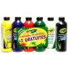 Crayola : Ecsetkész festék 6 db-os készlet