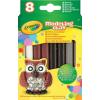 Crayola gyurma 8 db, natúr színek