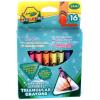 Crayola Mini Kids: Háromszög tömzsi viaszkréták - 16 db