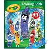 Crayola : Színező 64 oldalas - A4