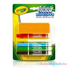 Crayola : Táblafilcek törlővel kreatív és készségfejlesztő