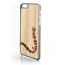 CreatiWood iPhone 6 népi mintás hátlap koto/ébenfából tok és táska