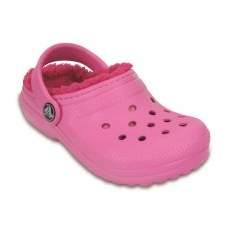 CROCS Classic Lined Clog Party Pink/Candy pink 24-25 (C8)