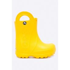 CROCS - Gyerek gumicsizma Handle Rain - sárga