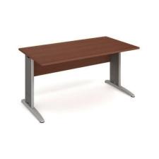 Cross irodai asztal, 160 x 80 x 75,5 cm, egyenes kivitel, dió mintázat irodabútor