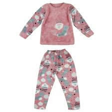 Csészés thermo pizsama gyerek hálóing, pizsama