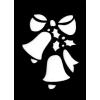 Csillám tetováló sablon #100 - Csengettyű