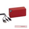 Cuboid bluetooth hangszóró, piros