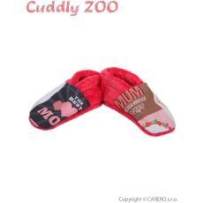 CUDDLY ZOO Mamusz Cuddly Állatkert Anya M korallpiros
