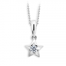 Cutie Diamonds Gyermek briliáns medál CP1942 medál