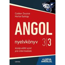 CZOBOR ZSUZSA - HORLAI GYÖRGY - ANGOL NYELVKÖNYV 3/3. - LOPVA ANGOLUL nyelvkönyv, szótár