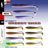 D.A.M EFFZETT - GREEDY SHAD 100MM - ORANGE BELLY/ SB=10