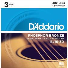 D'Addario EJ16-3D húr