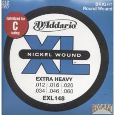 D'Addario EXL148 húrgarnitúra eletromos gitárhoz gitár kiegészítő