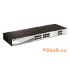 D-Link DGS-1210-20 Gigabit Smart Switch 20xport,Fémház,20xGigabit,4 Combo SFP