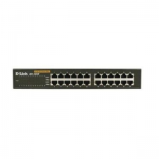 D-Link KapcsolóK D-Link DES-1024D 24 p 10 / 100 Mbps Fekete hub és switch