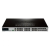 D-Link Switch 20X1000 + 4 X 1000BASE-T/SFP COMBO + 4SFP+ MENEDZSELT LAYER2+ STACK (DGS-3420-28TC)