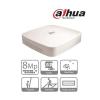 Dahua NVR4104-P-4KS2 NVR, 4 csatorna, H265, 80Mbps rögzítési sávszélesség, HDMI+VGA, 2xUSB, 1x Sata, 4x PoE