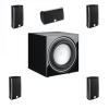 Dali Fazon Mikro 5.0 + SUB E-9F 5.1 szett fekete