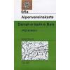 Darrah-e Issik-e Bala (Afghanistan) turistatérkép - Alpenvereinskarte 0/6a