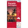 Darwin és környéke térkép - Hema