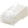 Datacom 100-pack, adatkommunikációs, RJ45, CAT5E STP 8P8C árnyékolt, összeállítás, az arcon (sodrott)